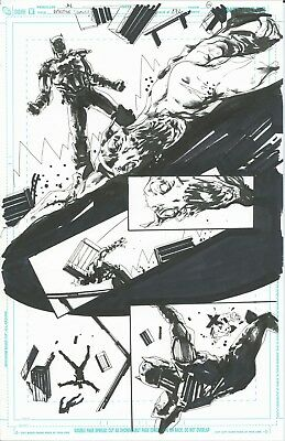 Detective Comics #872 PG19 original comic artwork by Jock (DC Comics)