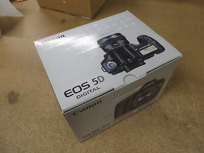 Canon 5D -- EMPTY BOX ONLY