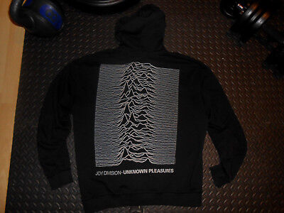 Joy Division - Unknown Pleasures ZIP Hoodie (XL) Kapuzen Jacke