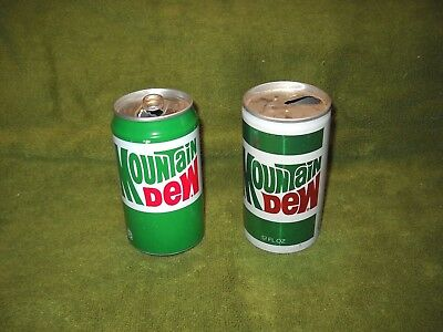 Mountain Dew Soda Cans, Nice, Empty 12 oz soda pop cans, Chestnut Hill, MA 02167
