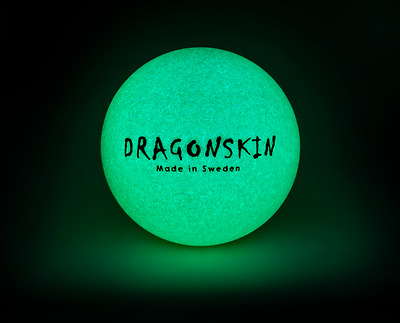 Dragonskin® Glow in the Dark Ø16 cm beschichteter Schaumstoffball 83g 25% Rabatt