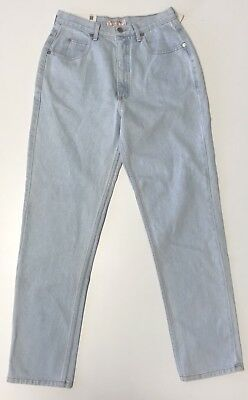 Vtg NWT GUESS Jeans Women SZ 4 28x29.5 Light Wash High Waise Mom Jeans Marciano