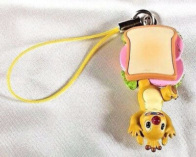 Disney Lilo and Stitch REUBEN Experiment Hanging from Sandwich Cell Phone Charm