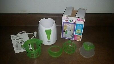 munchkin high speed bottle warmer/ baby food warmer/ pacifier sanitizer