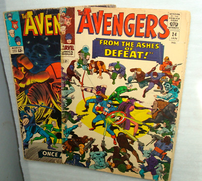 Avengers 23 and 24