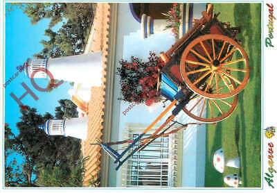Picture Postcard:-Algarve, Cart With Flowers And Chimneys