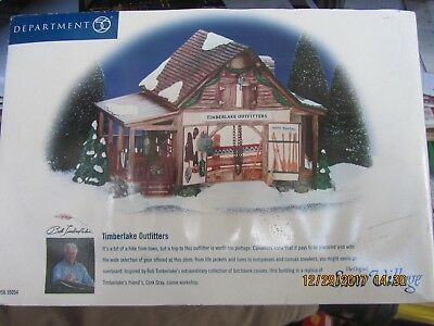 DEPT 56  Snow Village 55054 Timberlake Outfitters (NEW)