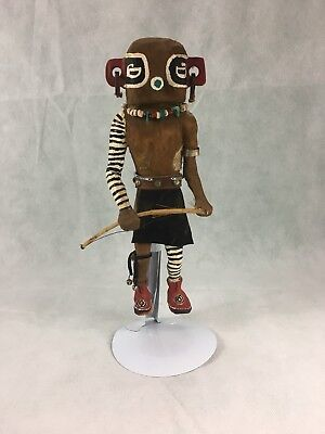 Lg. Vintage Kachina Doll Hand Crafted Estate Item Southwestern Decor