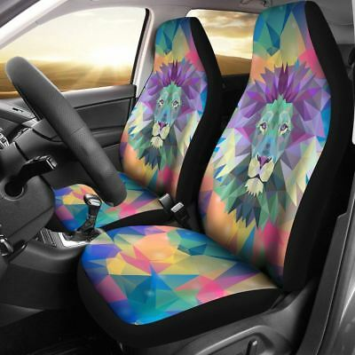 ELEPHANT CAR SEAT Cover Colorful Design ( Set of 2 ) - $69.95 | PicClick