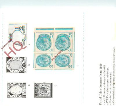 Picture Postcard:-National Postal Museum, Postal Union Congress Issue 1929