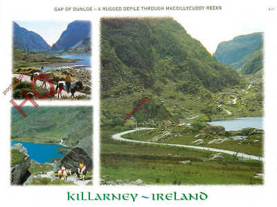 Picture Postcard-:Killarney, Gap Of Dunloe (Multiview)