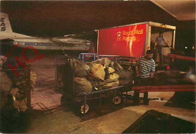 Picture Postcard:-Speke Spoke Mail Operation, Liverpool Airport