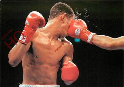 Postcard:-Boxing, Lightweight Boxer Takes Shot To The Head [Art Unlimited]
