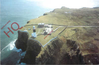 Postcard:;Rathlin East, (Altacarry) Rathlin Island, Co. Antrim, Lighthouse