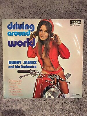 Buddy James and his Orchester - Driving around the world - Vinyl LP