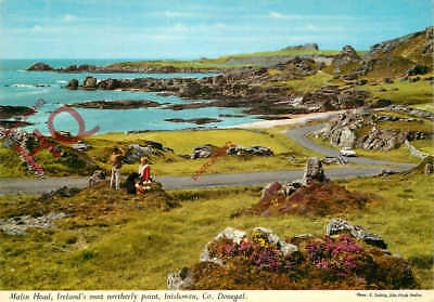 Postcard; Malin Head, Ireland's Most Northerly Point, Inishowen [John Hinde]