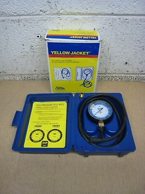 """New Ritchie Yellow Jacket 78055 0-10"""" WC Gas Pressure Test Kit Free Shipping"""