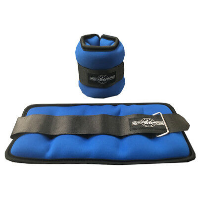 New Muscle Motion Neoprene Wrist and Ankle Weight Weights 2kg (1kg x 2)