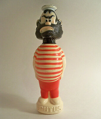 VTG BRUTUS from POPEYE SOAKY EMPTY BUBBLE BATH CONTAINER COLGATE PALMOLIVE 60's