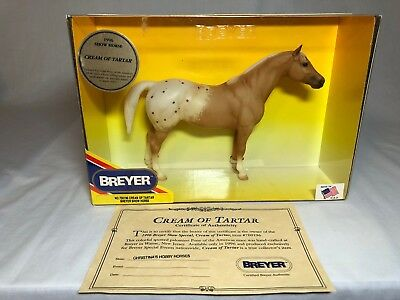 Breyer model horse #700196 Cream of Tartar, traditional scale, new in box