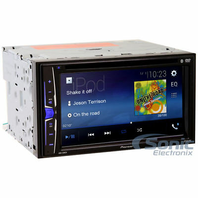 "Pioneer AVH-200EX Double 2 DIN 6.2"" Touchscreen Bluetooth USB DVD CD Car Stereo"