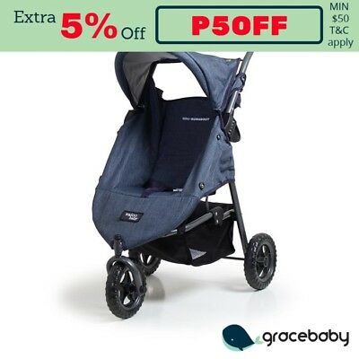 Valco Baby Mini Runabout Doll Stroller - Denim