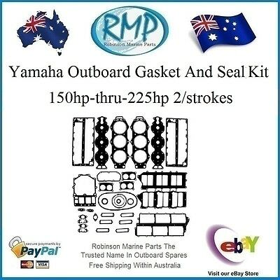 A Brand New Power Head Gasket Kit Suits Yamaha 150hp-thru-225hp # R 6G5-W0001-02