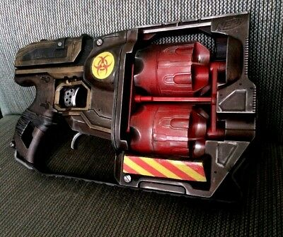 CUSTOM prop NERF Cosplay Steampunk Larp Apocalyptic Gun Fallout Borderlands FREE