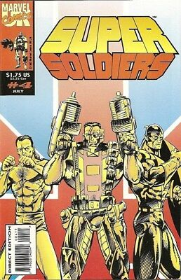 Supersoldiers (1993) #4 of 8