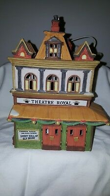 Dickens' Christmas Heritage Village collection THEATER ROYAL Dept 56 porcelain