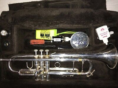 Bach 37 Trumpet 1992 Silver Plated