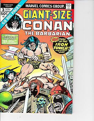 Giant Size Conan the Barbarian  3 (FN/VF  7.0) Apr-1975,  Marvel