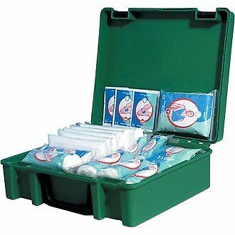 Standard HSE First Aid Kit 20 Person Plasters Bandages Dressings Eye Pads Gloves