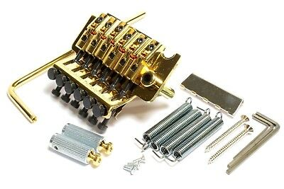 Gotoh GE1996T Floyd-Rose® Tremolo & GHL-2 (43mm) Locking Nut Gold
