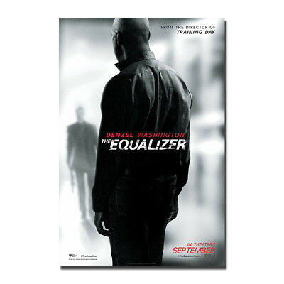 The Equalizer 2 Movie Silk Fabric Poster Canvas Art Print 12x18 24x36 inch