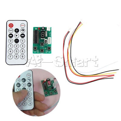 4-Wire 2-Stage Stepper Motor Driver Adjustable Speed Controller & Remote Control