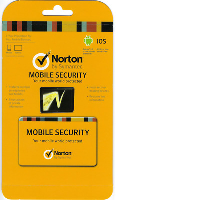 Norton Mobile Security - Multiple Mobile Devices (Phones and tablets) 1 Year
