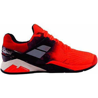 Babolat Fury Rouge Fluo Terre Battue Chaussure Tennis - 50 %