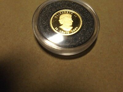 Kanada 50 Cent 2005 1/25 OZ fine-gold