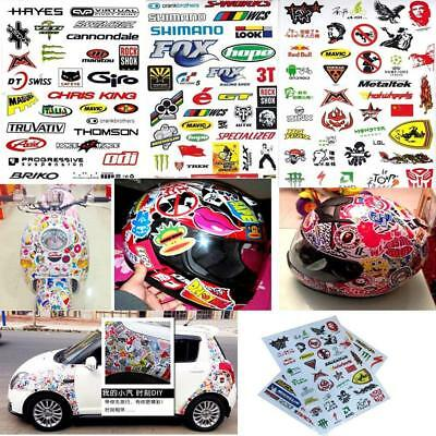3PCS Outdoor Cycling Antirust Sticker Bicycle MTB Skateboard Decal