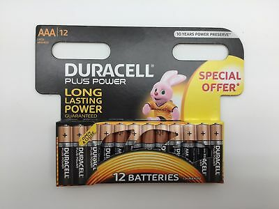 """Duracell Micro MN2400 Plus Power Duralock in 12er-Blister """"Special offer"""""""