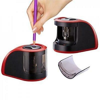 OpenBox Pencil Sharpener with Powerful Motor Battery Operated & Electric Pencil
