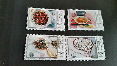 Turkish Cyprus 1992 Sg 347-350 Conf On Nutrition Mnh