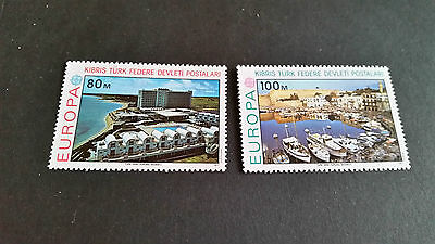 Turkish Cyprus 1977 Sg 49-50 Europa Mnh