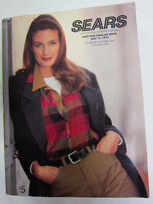 1992 - 1993 Sears Fall Winter Annual Catalog NICE CONDITION Vintage, Never Used
