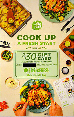Cook UP Hello Fresh $30 Gift Card