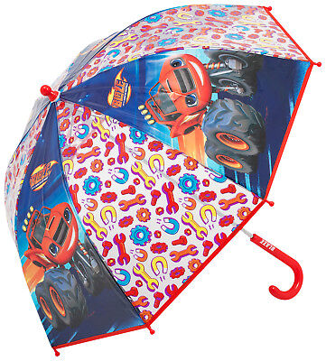 Disney CARS Blaze & Monster Machines Childrens Umbrella Kids Bubble Dome Brolly