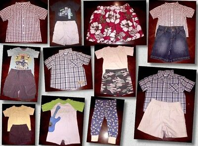 Lot of 15 Pieces Of Baby Boys Clothes Sizes 18 Mos Different Brands (BB08)