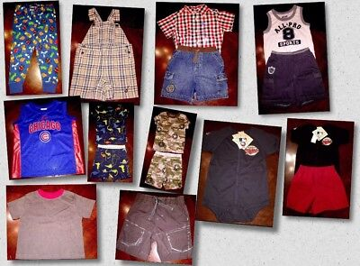Lot of 15 Pieces Of Baby Boys Clothes Sizes 18 Mos Different Brands (BB03)
