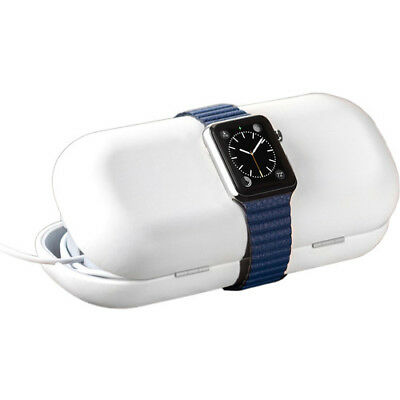 Twelve South Apple Watch TimePorter Travel Case Charging Stand White PS